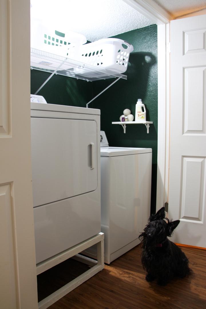 Boho Chic Laundry RoomRenovation