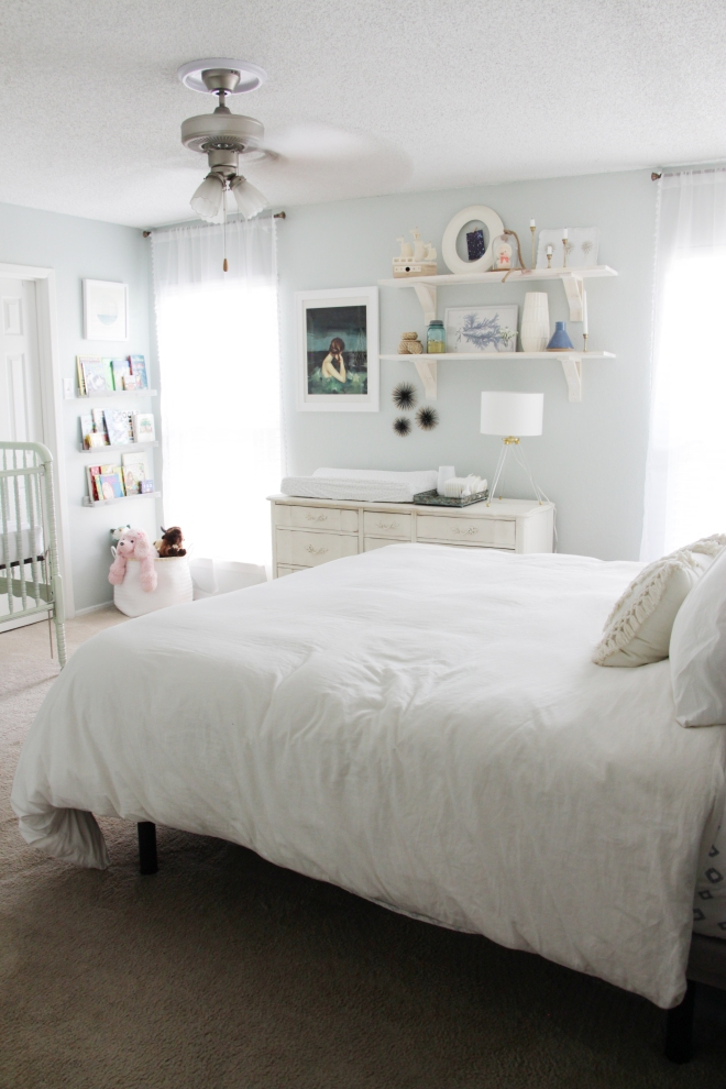 Maegan Johnson NurseryBedroom Tour, Nursery Interior Design, Modern Nursery Design, Coastal Nursery Design