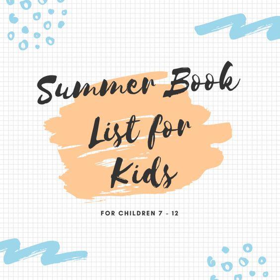 Summer Reading List forKids