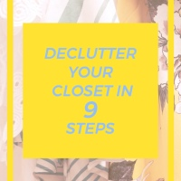 A complete guide to decluttering your closet