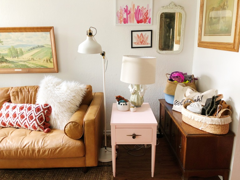 Gussied Up and Glitzed Living Room Tour37