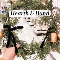 Hearth & Hand Cedar Wreath DIY