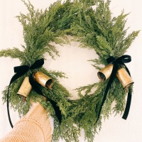 Hearth & Hand Cedar Wreath DIY